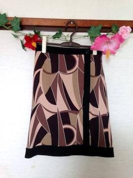 デイシー◆サラサラ スタイリッシュ ラップ スカート サイズ7