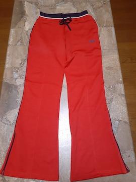 バンズ・パンツ・赤