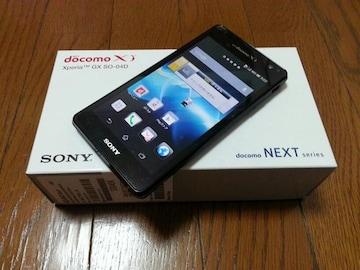 即落/即発!!美中古品 SO-04D Xperia GX ブラック LTE Xi