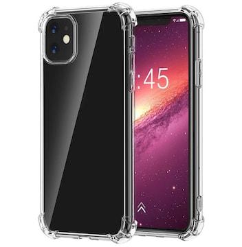 iphone11 クリアラバー シリコンケース ショック軽減