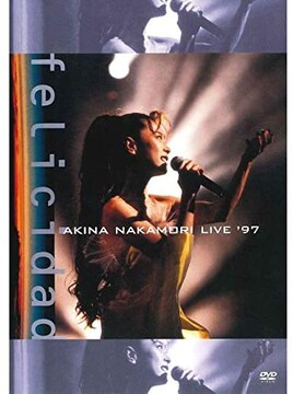 DVD新品  中森明菜 live '97 felicidad (期間限定盤)