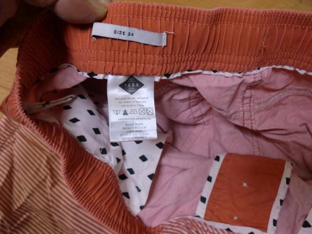 TCSS TRANSIT BOADSHORT ショートパンツ W34  < 男性ファッションの