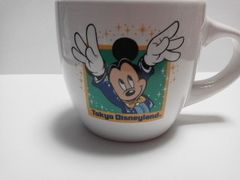 TDL東京ディズニーランド20周年スーベニアカップミッキーマウスマグカップ