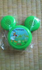 ディズニーミッキーマウス型のスピーカー ドナルド