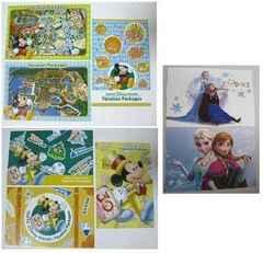 ディズニー 30周年 ポストカード アナと雪の女王 計8枚