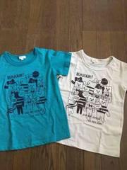 ハッシュアッシュ!Tシャツ2枚まとめセット!120サイズ!新品!
