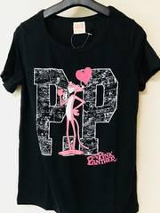 ☆新品☆可愛い*ロゴピンクパンサーデザインTシャツM