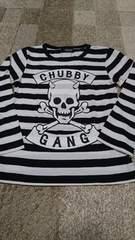 CHUBBYGANG ボーダーTシャツ
