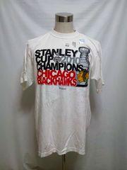 st2 MシカゴNHLブラックホークスTシャツ 2010 スタンレーカップ