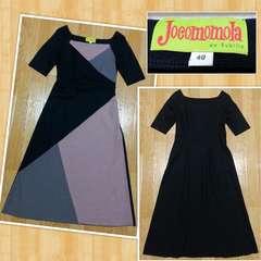 Jocomomola de Sybilla ホコモモラ ウールワンピース 40 日本製 美品 定価3万