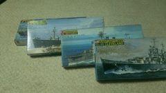 プレミア昭和の戦艦プラモセット