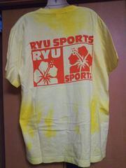 RYU SPORTS*デカロゴハイビ*ビッグTシャツYL