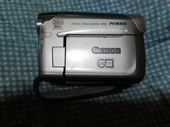キャノンデジタルビデオカメラNTSC  FV  M 300