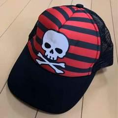 新品◆ボーダードクロ◆メッシュキャップ◆52〜56帽子
