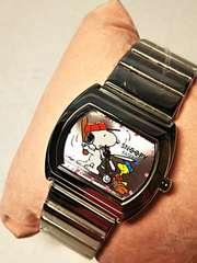 スヌーピー  腕時計  ベースボール  野球  ピンク色  レディース