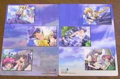 ○「AIR」 下敷き風カード 001・003番