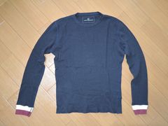 uniform experimentカットソー1紺ロンTソフネットSOPHNET.
