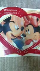 [非売品]DOCOMO ディズニーカレンダー2019年Disney ミッキーマウス