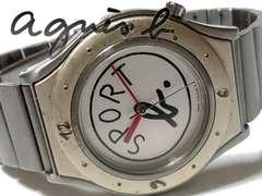 良品 1スタ★アニエスb./agnes b.【激レア】スポーツ 腕時計