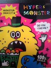 ミニメモhyper monster新品