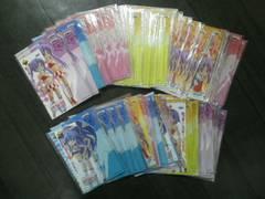 未使用らき☆すたポストカード&しおりセット79枚詰め合わせ福袋