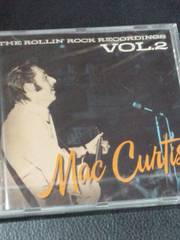 ロカビリー /マック・カーティス Mac Curtis /The Rollin' Rock Recordings
