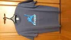 激安85%オフシュプリーム、ステューシーTシャツ(極美品、灰、アメリカ製、L)