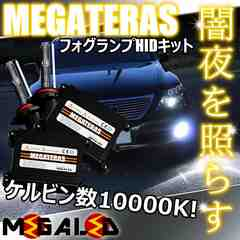 mLED】レクサスLS600hl前期中期/フォグランプHIDキット/HB4/10000K