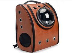 犬猫兼用 宇宙船カプセル型ペットバッグ リュック機能付き