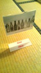 ☆未使用【コカコーラ/アクリル製のメニュースタンド】写真たてにも☆送料250円☆