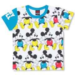 新品BABYDOLL☆ディズニー ミッキー総柄 Tシャツ 140  ベビードール