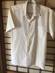 男子制服夏半袖シャツ165