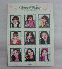 TWICE Merry&Happy 特典 ステッカー