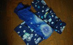 5〜6歳用 男児 浴衣帯セット 美品