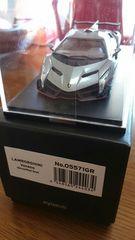 1/43 京商製品 ランボルギーニ ヴェネーノ 未使用 新品 限定 グレーレッドライン