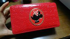 TDLミニーマウスジュエリーボックスアクセサリー赤ロゴ
