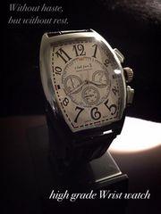 FRANCK MULLERフランクミュラータイプ革ベルトスクエア腕時計