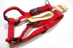 送---円~15kg~20kgプラットハーネスM赤F4851胴輪45~70cm用レッドRed