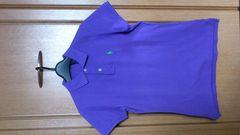 激安81%オフラルフロールン、半袖ポロシャツ(新品タグ、紫、直営店、L)