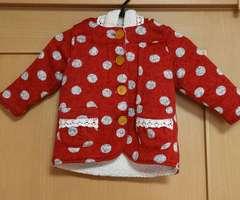 秋物☆裏ボアの可愛いコート☆size100
