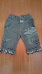 100サイズ 長めの半ズボン 美品