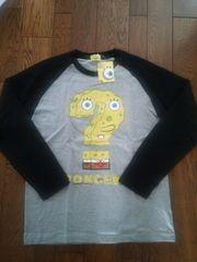 スポンジ ボブ 長袖Tシャツ キャラクターTシャツ