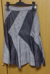 Γ】ヴィヴィアンLEDLABELデニムスカート サイズ2