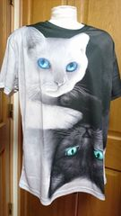 ☆猫猫 速乾吸湿シャツ