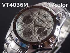 【残りわずか/送料無料】日本製VITAROSOメンズ腕時計