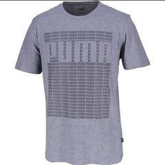 【送料無料・新品タグ付】プーマ メンズ 半袖Tシャツ L グレー