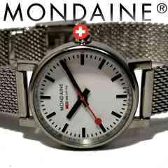 良品 モンディーン【スイス公式】1点もの お洒落な腕時計