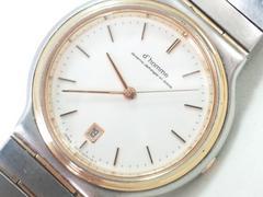 10469/シチズン高額シリーズhommeコンビ仕様モデル★メンズ腕時計ホワイトデイト