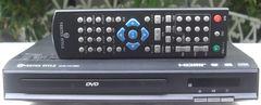 VERTEX/DVD-V015BK小型DVDプレーヤ中古完動リモ付