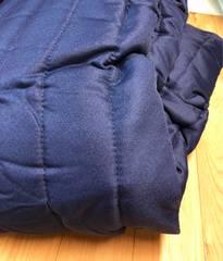 新品☆シングルベッドマットレスカバー脚付きマットレスに紺b112
